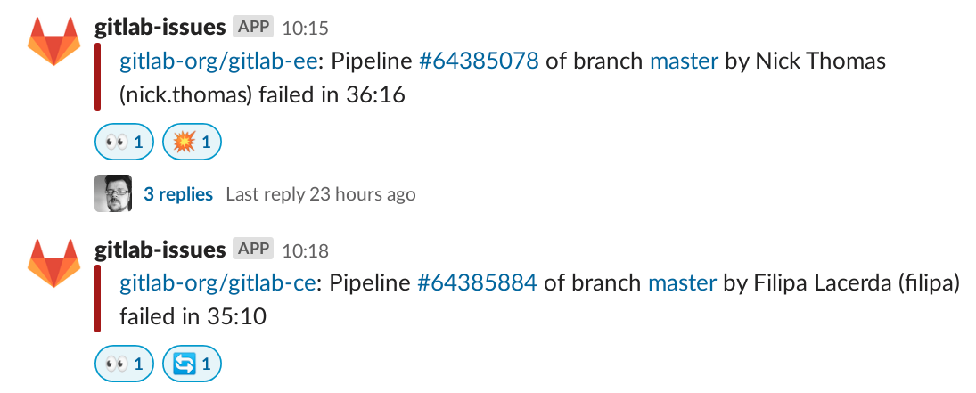 pipeline failures example
