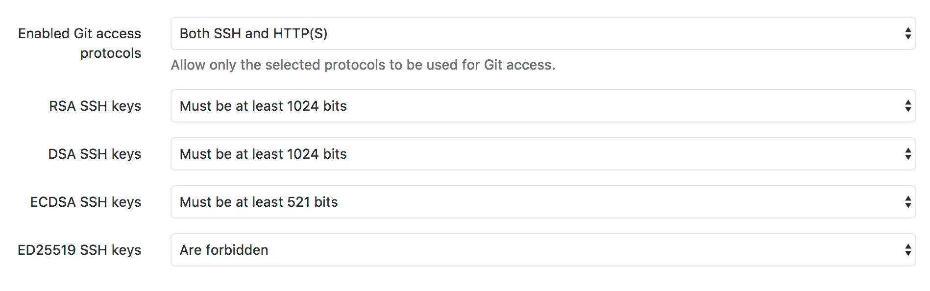 how to add new ssh key into gitlab
