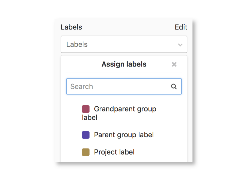 Assigning and filtering by subgroup labels