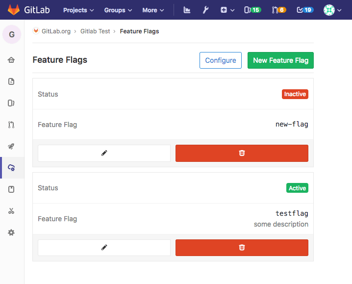 Create and toggle feature flags for your applications (alpha)