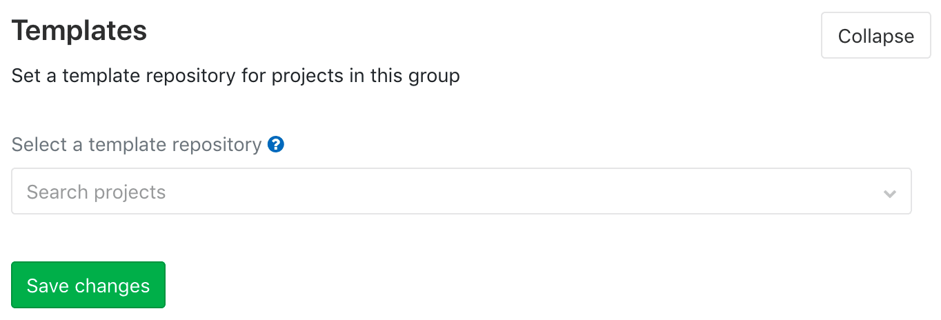 Group file templates