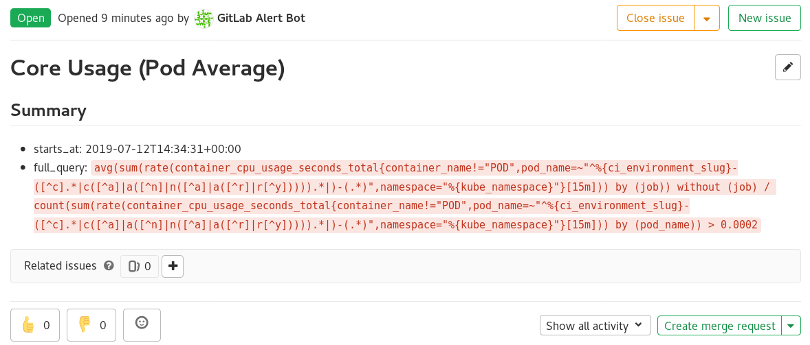 Annotate GitLab incidents with Prometheus alert attributes