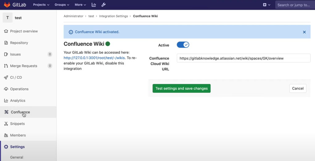 Redirect wikis to Confluence Workspace