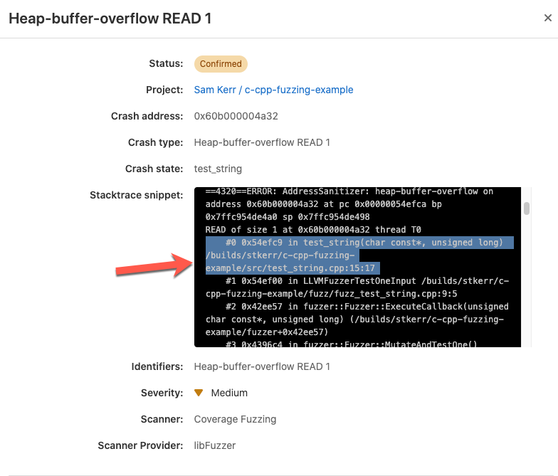 Coverage-guided fuzz test results are now human-readable