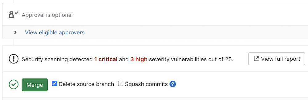 Improved SAST severity data for JavaScript vulnerabilities