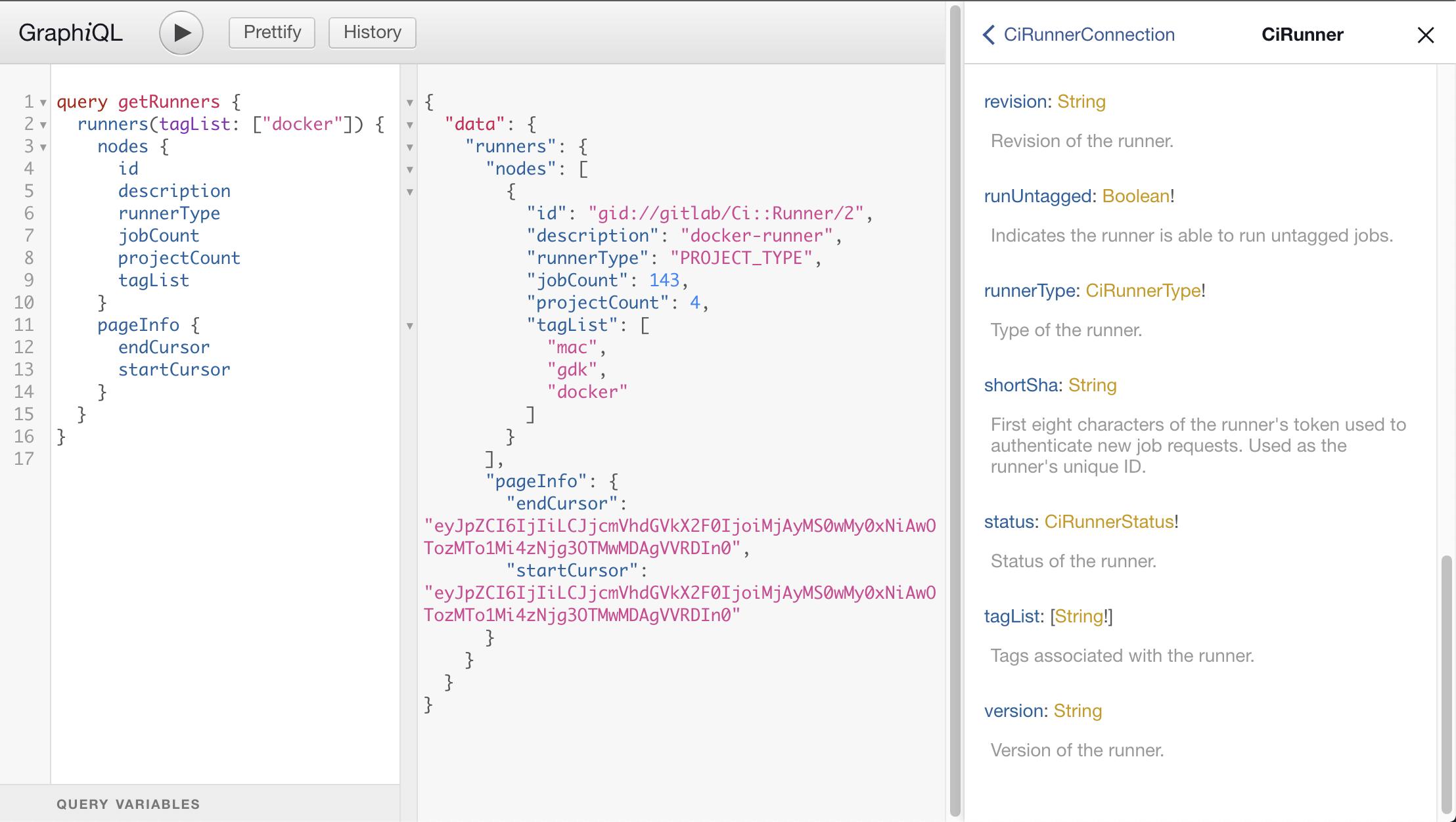 Enable GraphQL Runner API by default