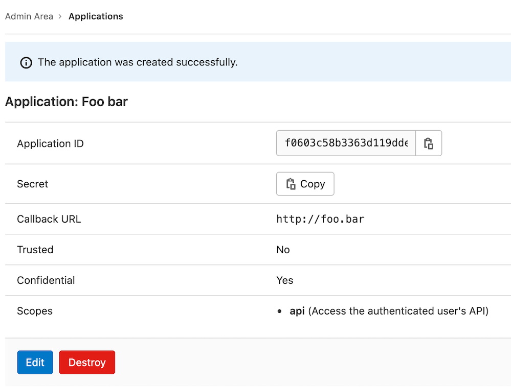 Hide application secrets