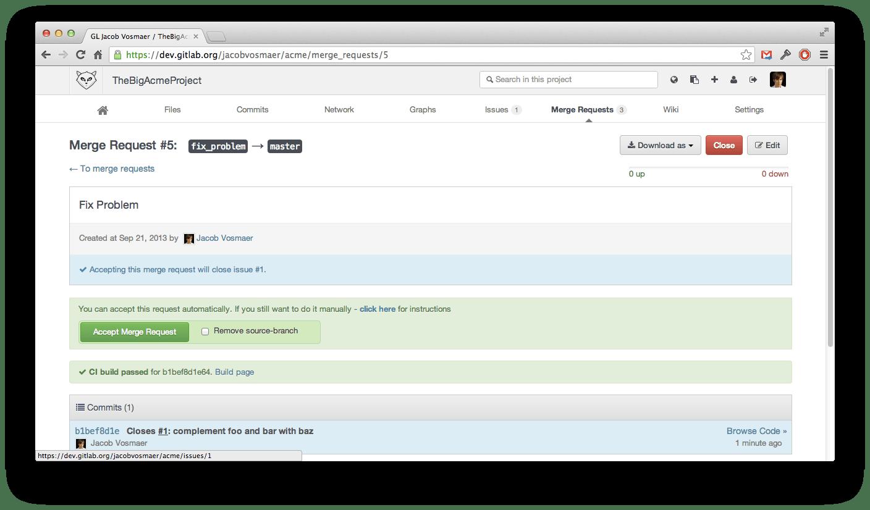 GitLab Community Edition 6 1 released | GitLab