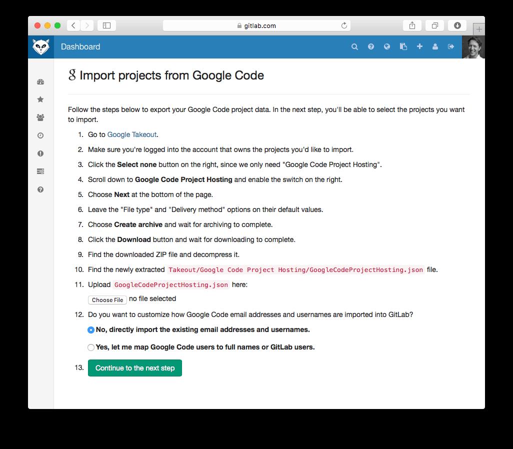 GitLab 7.10 Released With Google Code Import, Default Git