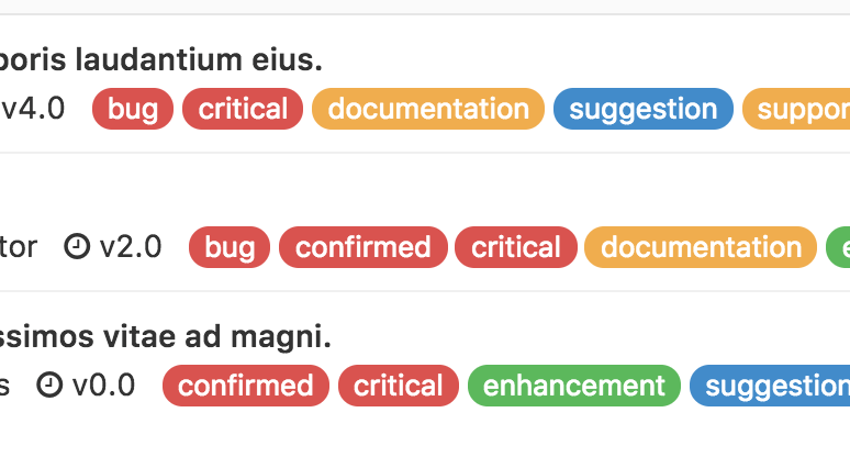 Unique Labels in GitLab 8.15