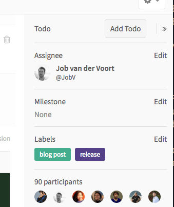 Manually add Todos in GitLab 8.9