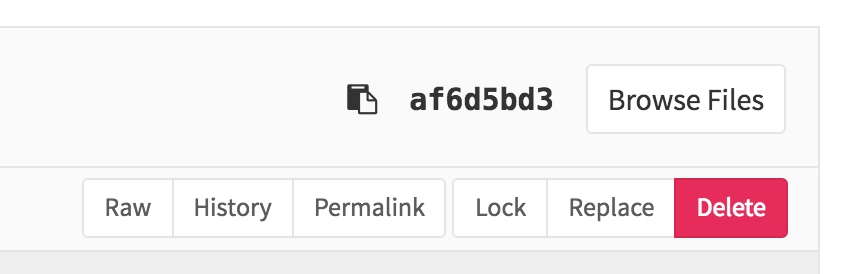 Lock a file in GitLab 8.9