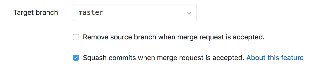 """Remove Source Branch"" Disabled by Default"