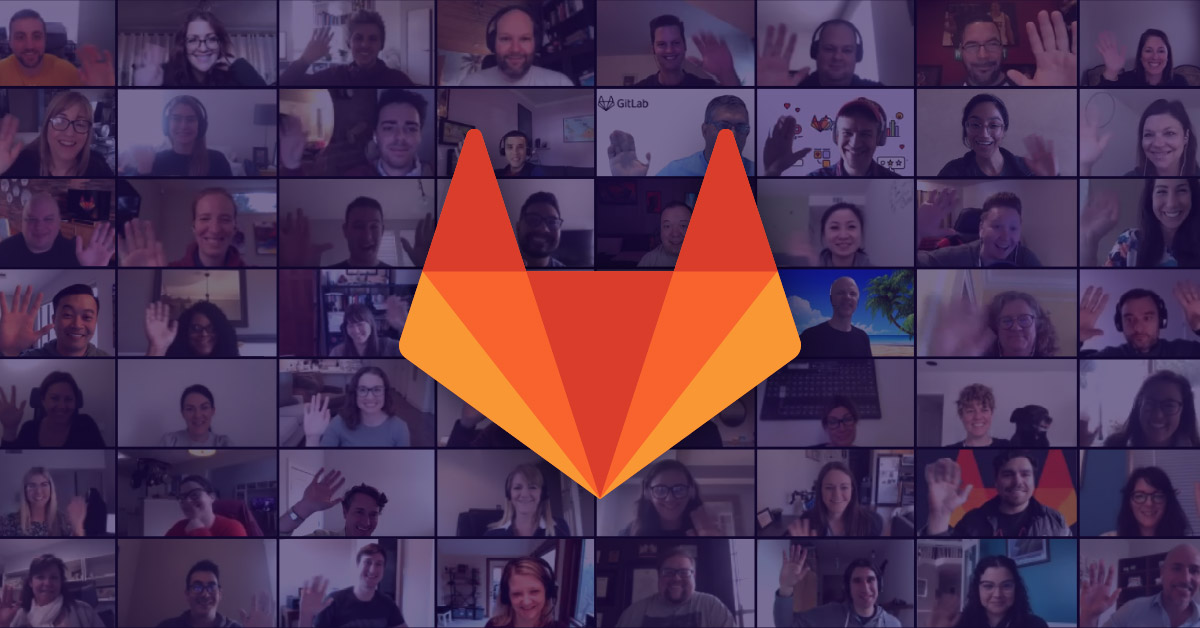GitLab all-remote team