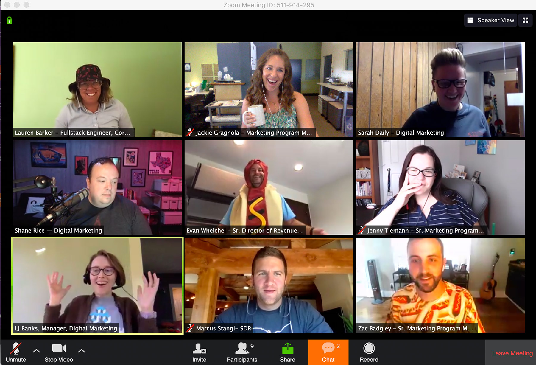 Group social calls are a great way for remote teams to connect and bond