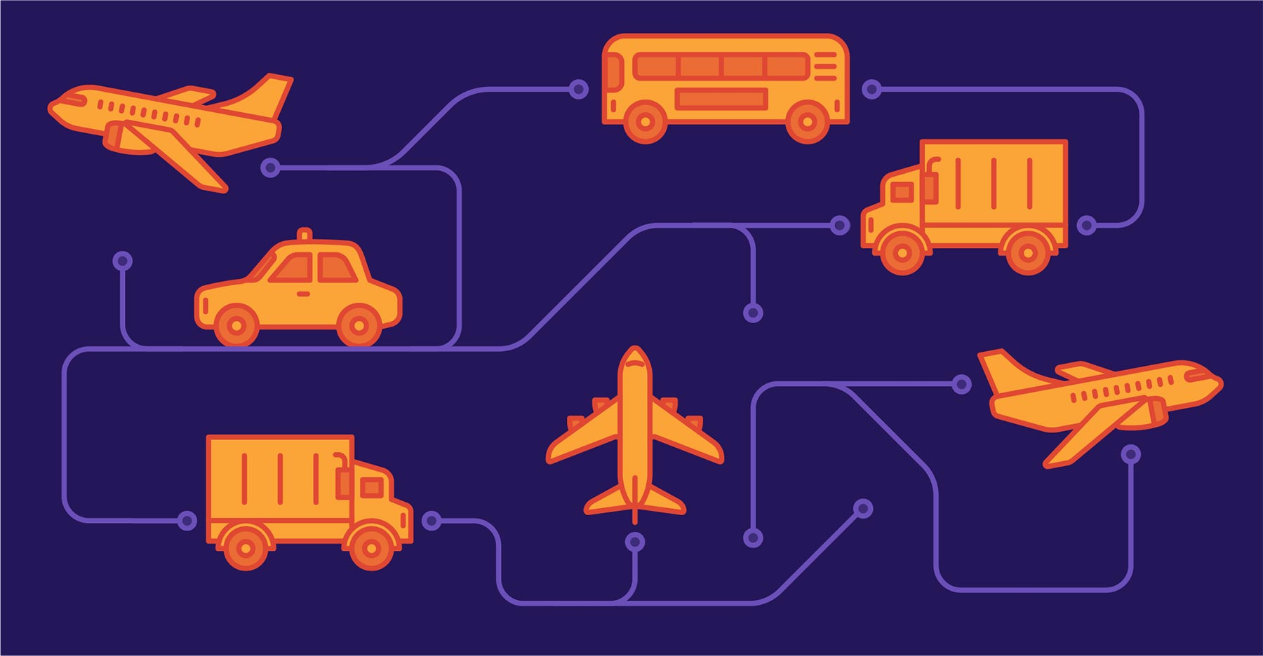 GitLab transport illustration