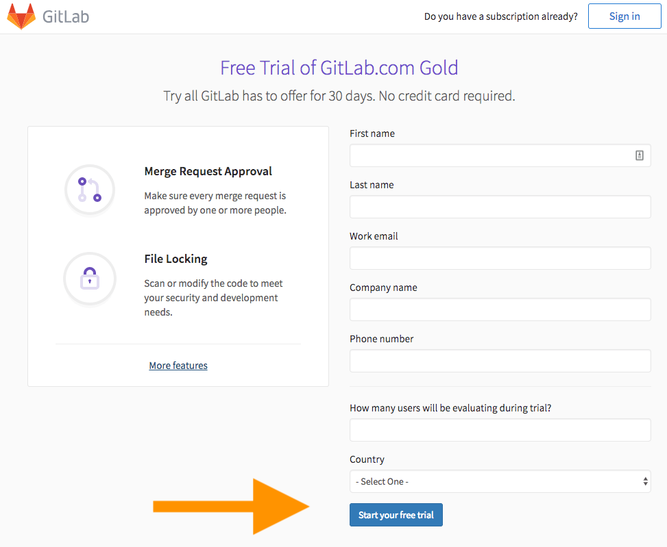 Take GitLab Gold out for a test drive | GitLab