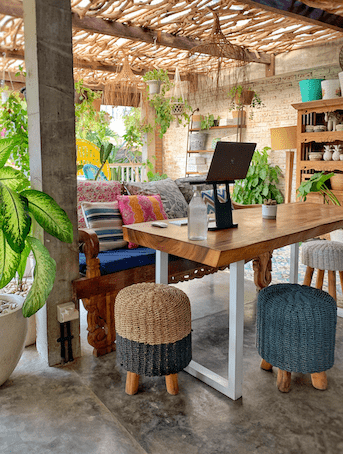 What co-working in Bali looks like