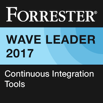 Forrester Wave Leader badge
