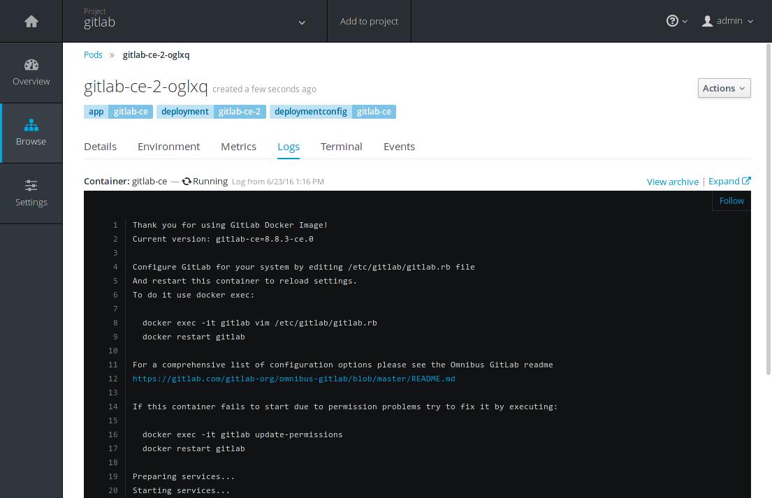 Get started with OpenShift Origin 3 and GitLab | GitLab