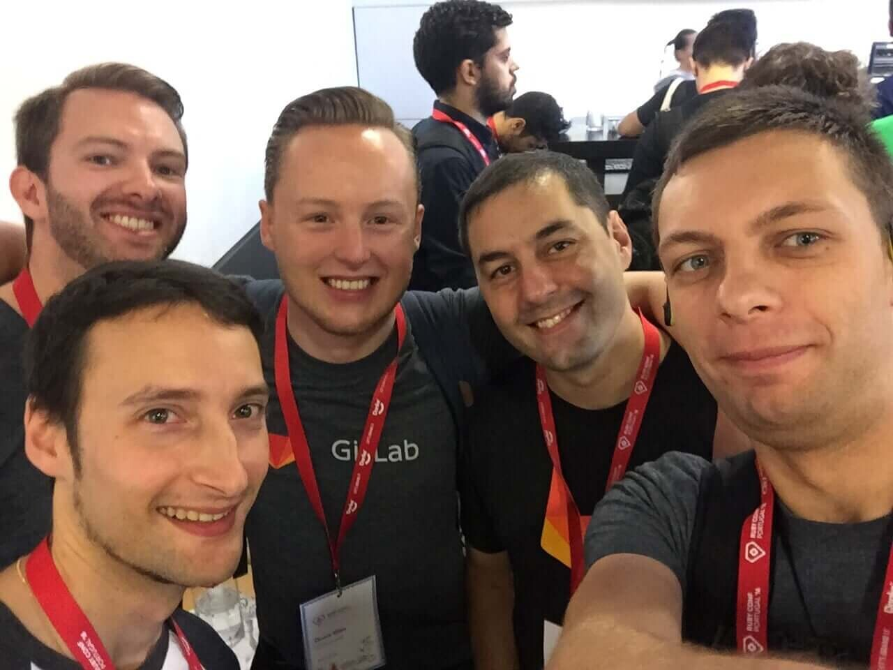 Our Rubyconf Portugal crew