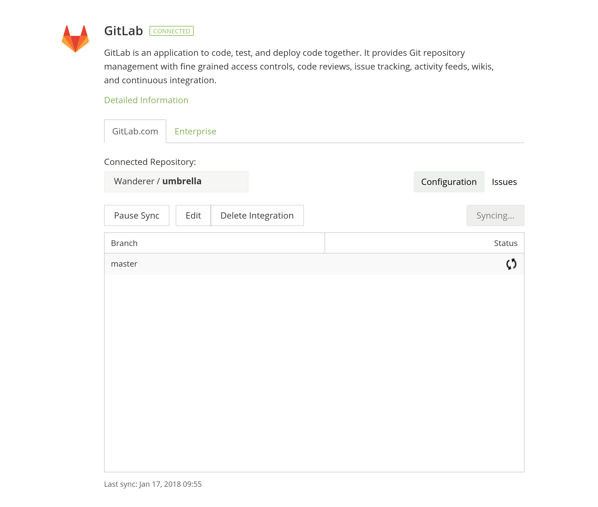 GitLab Crowdin integration