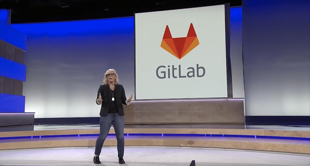 Melody Meckfessel talks GitLab GCP migration during keynote