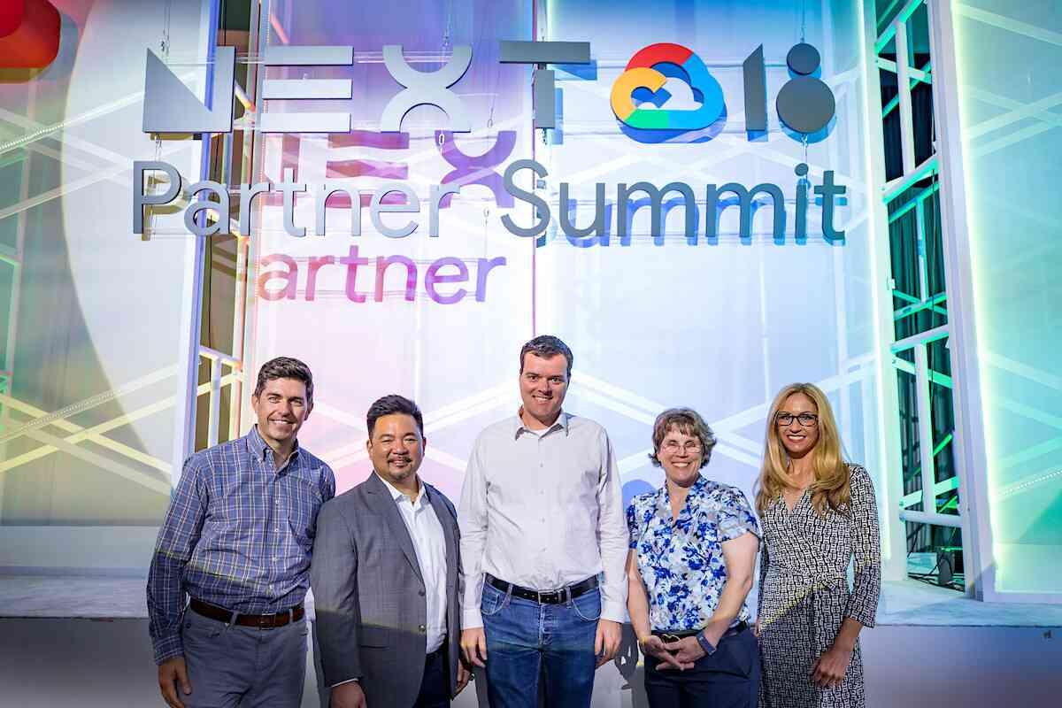 Sid Sijbrandij and Google tech partner team
