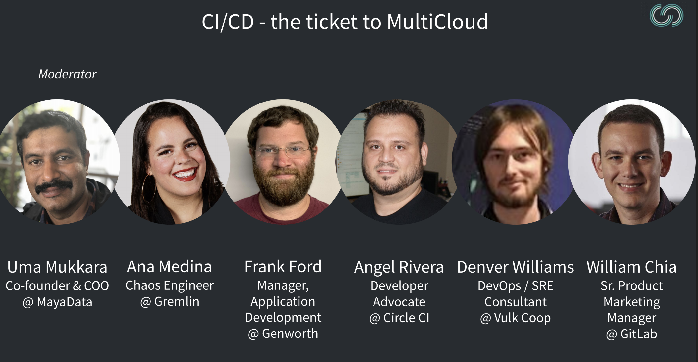 CI/CD MulticloudCon panelists