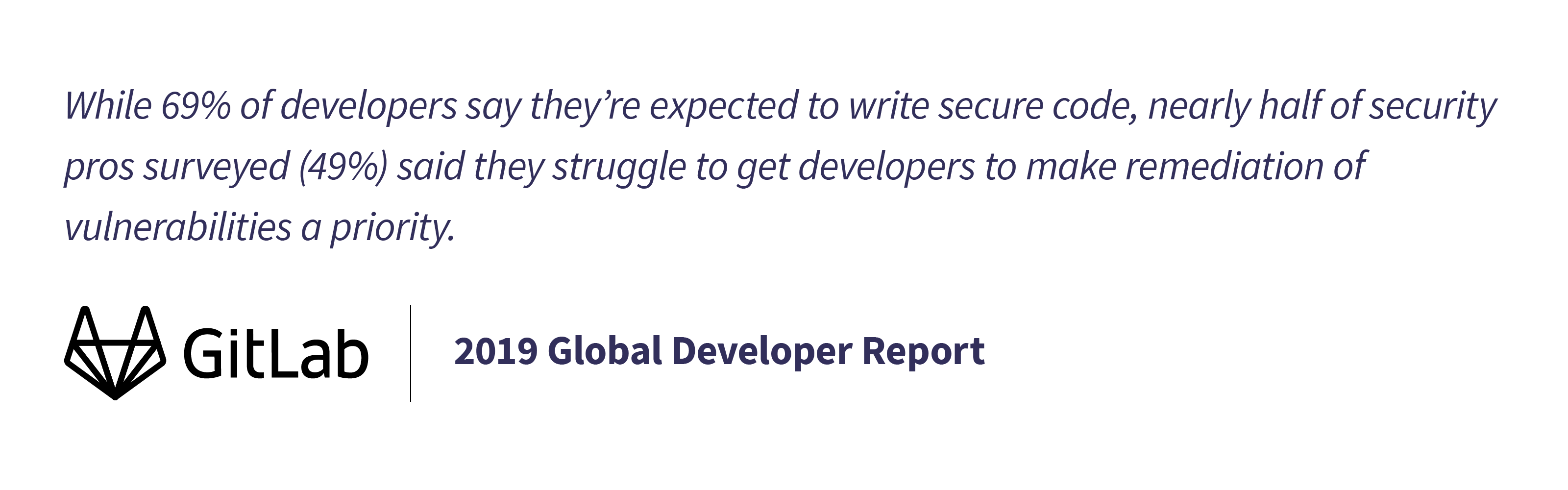2019 Developer Report security findings