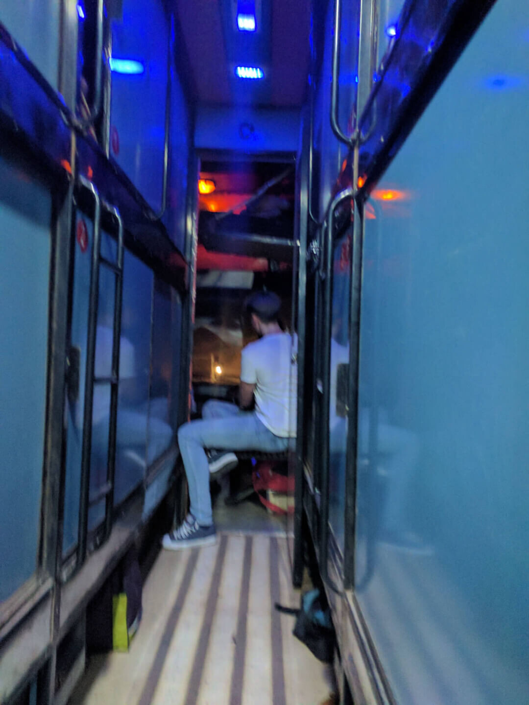 Indian sleeper bus