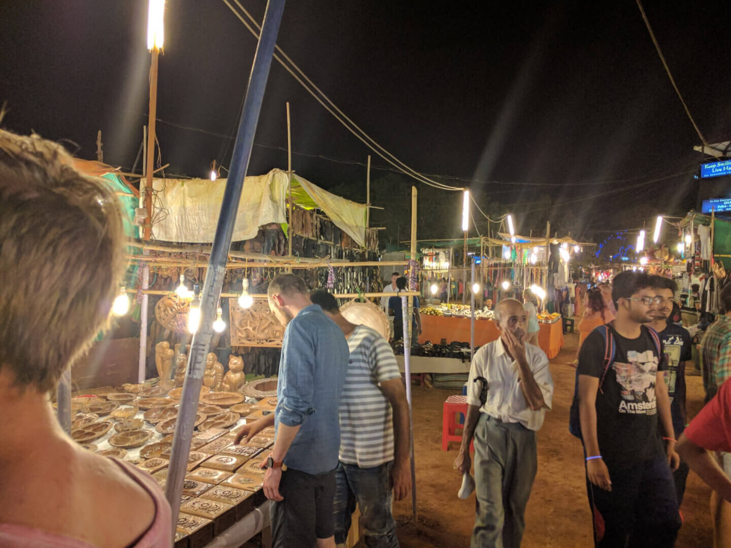 Indian nightmarkets