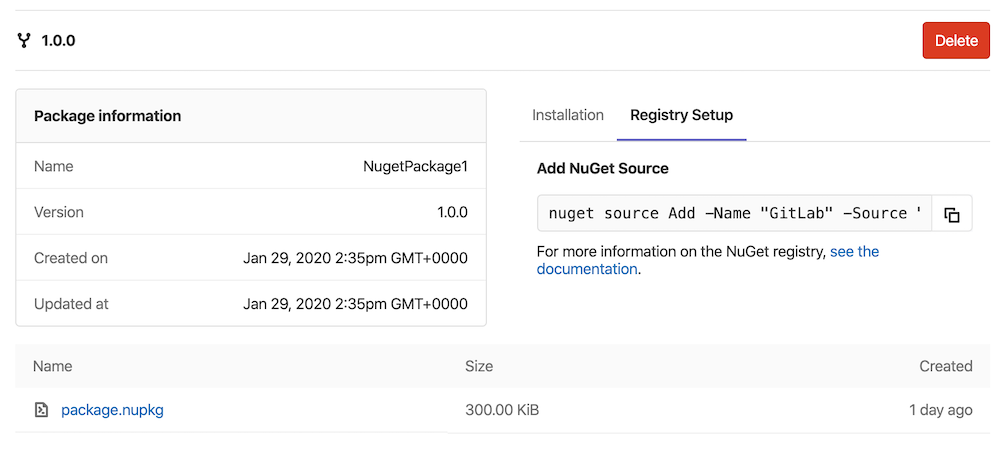 NuGet (.NET) Repository