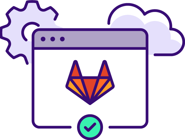 Integrated GitLab CI