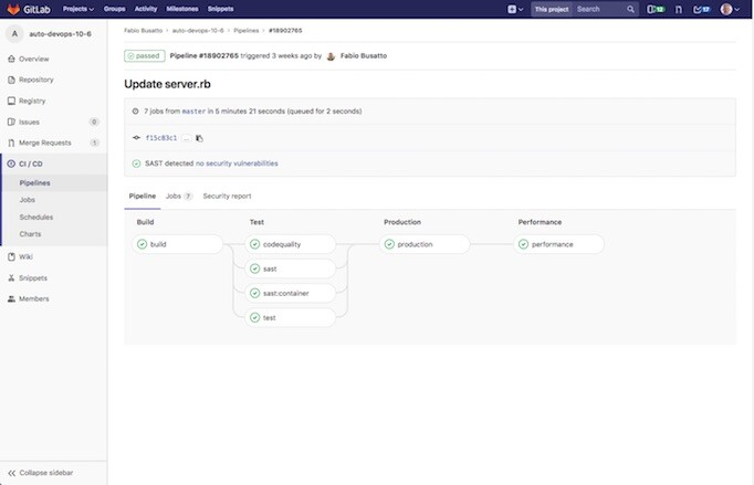 GitLab Boards Screenshot