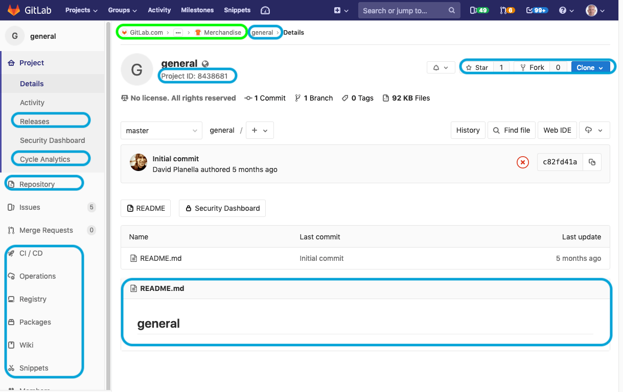 GitLab Project