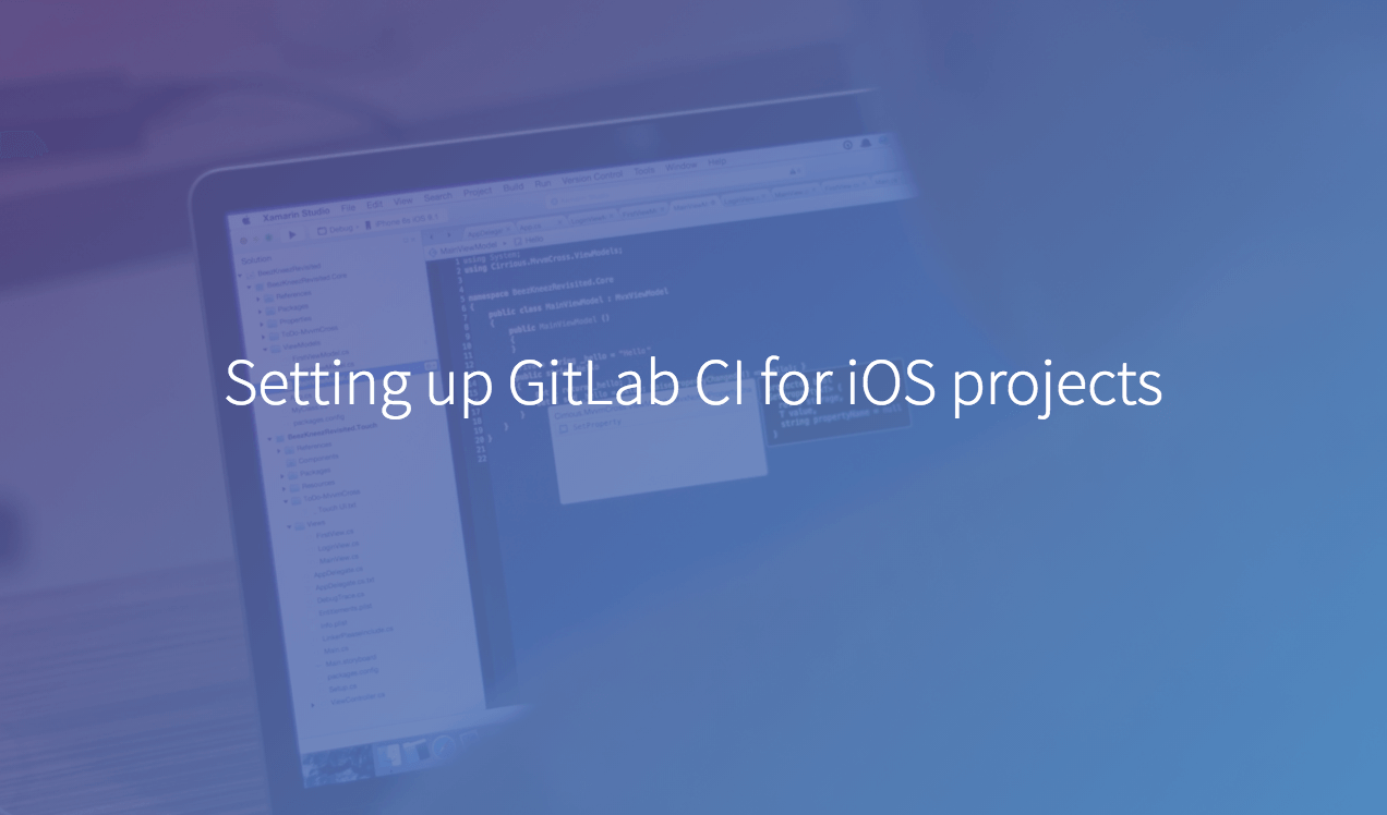 Setting up GitLab CI for iOS projects | GitLab